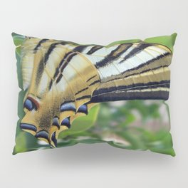Swallowtail With Partially Closed Wings Side View Pillow Sham