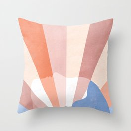 Look at the bright side Throw Pillow