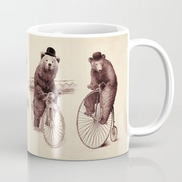 Bears on Bicycles Coffee Mug