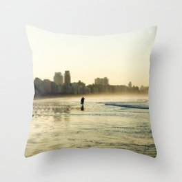 some walks you have to take alone Throw Pillow