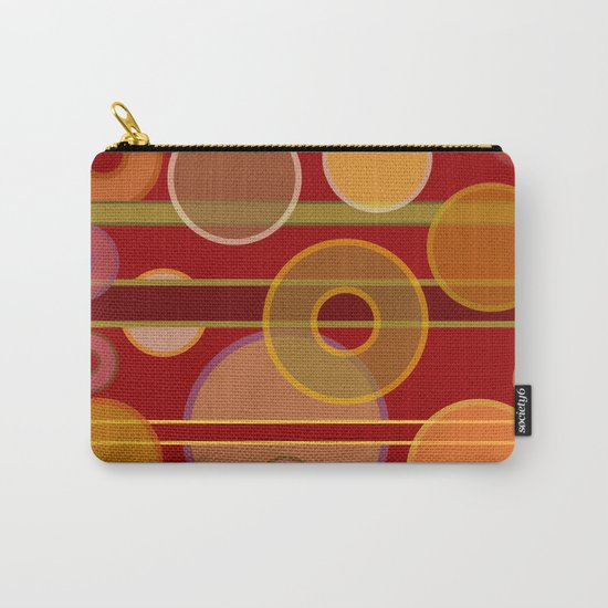 Circles, Lines & Colors #2 Carry-All Pouch