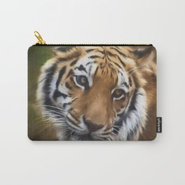 Painted Tiger Carry-All Pouch