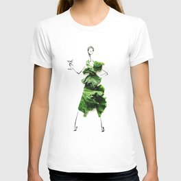 Edible Ensembles: Kale T-shirt