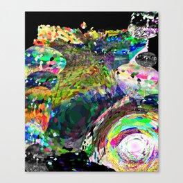 No Square Canvas Print