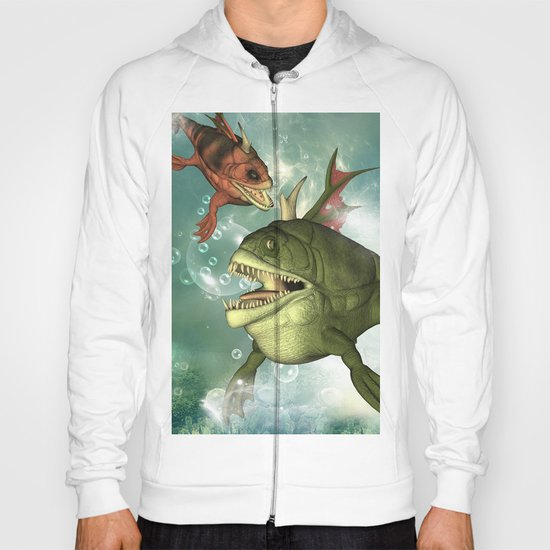Armour fish Hoody