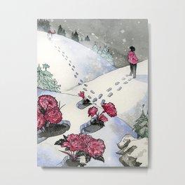 Pink Carnations Metal Print