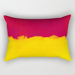 A Swiss street wall Rectangular Pillow