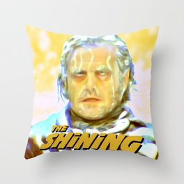 The Shining Poster Style Throw Pillow