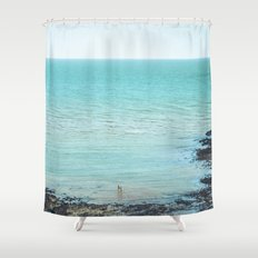 The way I dream you Shower Curtain