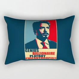 Robert Downey Jr - The Legend Rectangular Pillow