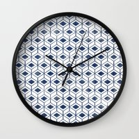 indigo Wall Clocks featuring INDIGO by KIND OF STYLE
