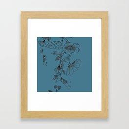 Botani Line III Framed Art Print
