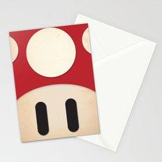 Minimal Powerup Stationery Cards