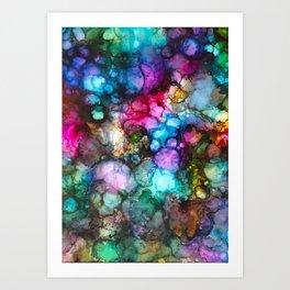 ~night lights~ Art Print