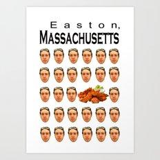 Easton, MA Art Print