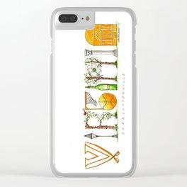 UVA - Charlottesville Clear iPhone Case