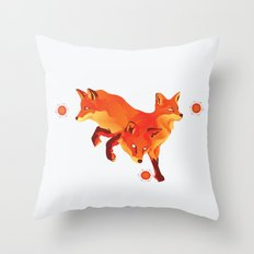 Keep the Fire Throw Pillow
