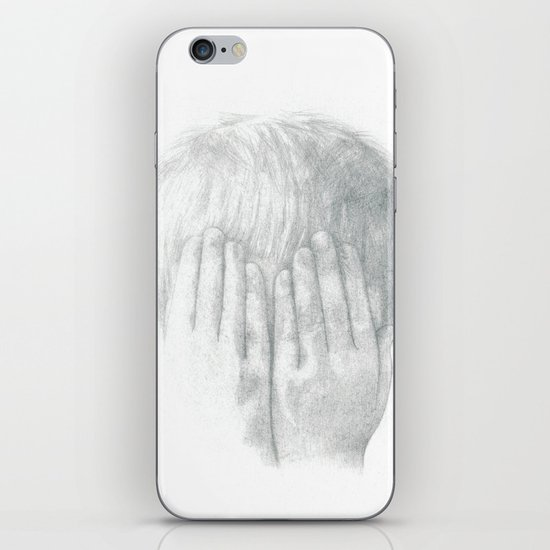 You Can't See Me iPhone & iPod Skin