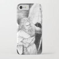 "archer iPhone & iPod Cases featuring Archer by Barbara ""Yuhime"" Wyrowińska"