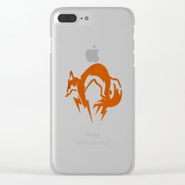 Foxhound Clear iPhone Case
