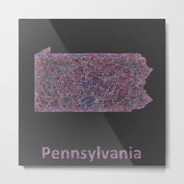 Pennsylvania Metal Print
