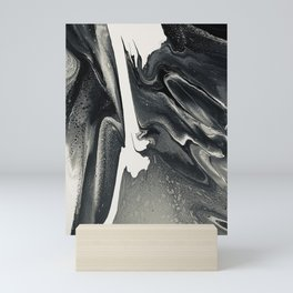 Sequence in Black Mini Art Print