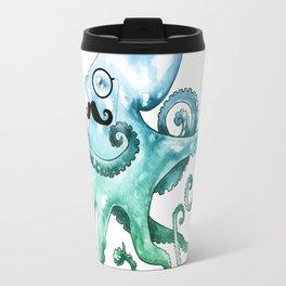 Monocle Octopus Travel Mug