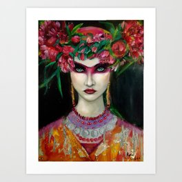 Vikina Art Print
