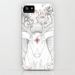 Deer, Oh Deer! iPhone Case