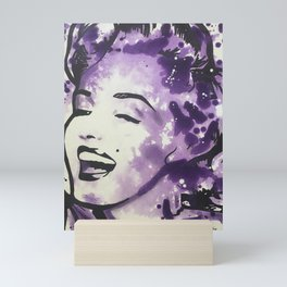 Playfully Purple Mini Art Print