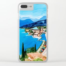 Lake Garda, Italy Clear iPhone Case