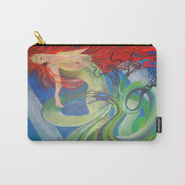 Enchanted Mermaid Carry-All Pouch