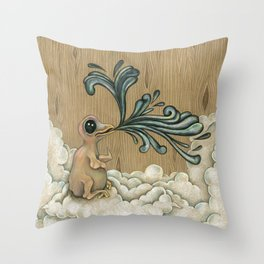 Bird Song Throw Pillow