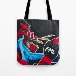 Rock Em Sock Em MMA / FML Tote Bag