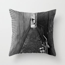 ...any path will take you there... Throw Pillow
