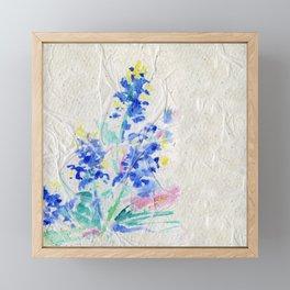 Blue Bonnets by Kathy Morton Stanion Framed Mini Art Print