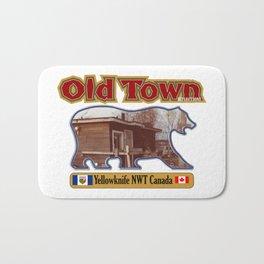 Old Town Yellowknife NWT Bath Mat