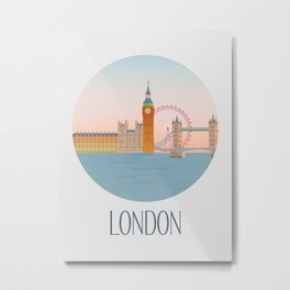 London City Art Metal Print
