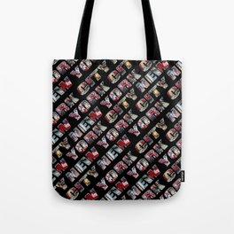 New York City (typography diagonal) Tote Bag