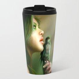 Green Whisper Travel Mug