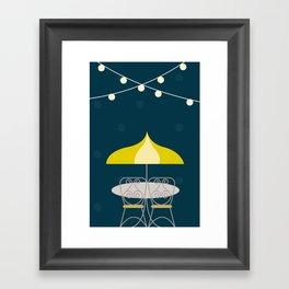 Jolly Cafe   Disney inspired Framed Art Print