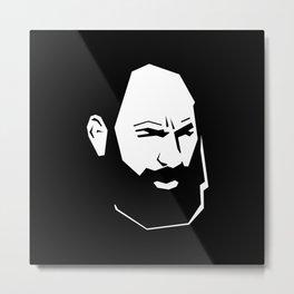 Monte Melkonian, Armenian hero  Metal Print
