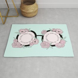 The Optimistic Point Of View Rug