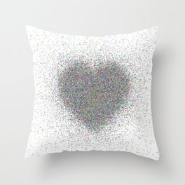 heart 13 Throw Pillow