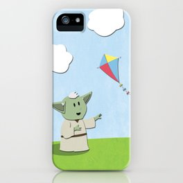 SW Kids - Yoda Kite iPhone Case
