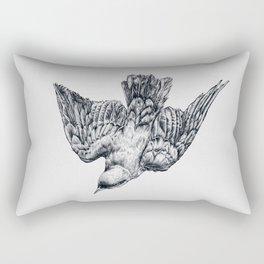This bird is called a splendid starling Rectangular Pillow