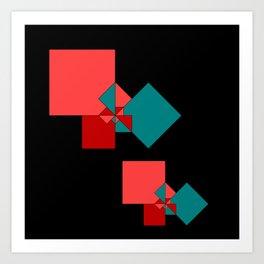 experiments on Lindenmayer Systems -4- Art Print