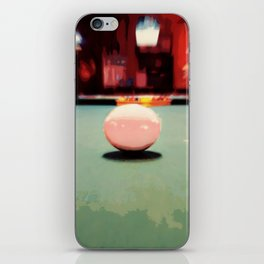 Cue Ball Abstract  iPhone Skin