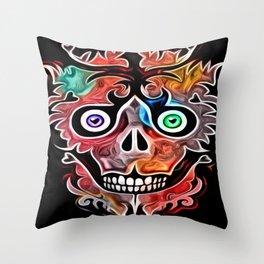 Sheldon Skully Throw Pillow