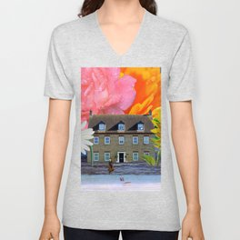 Beachside Property - My Work Here Is Done Unisex V-Neck